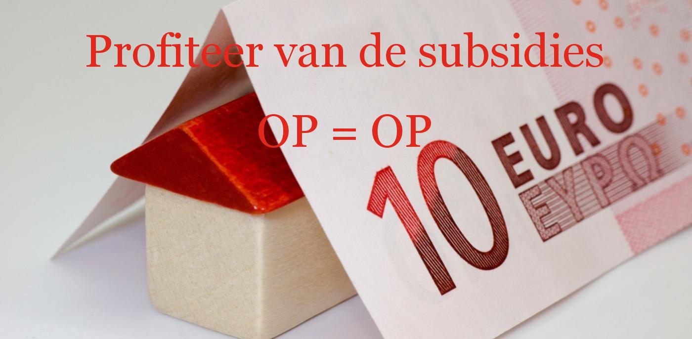 Isolatie subsidie